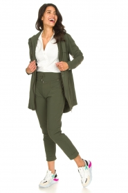 D-ETOILES CASIOPE |  Travelwear parka Avocat | green  | Picture 3