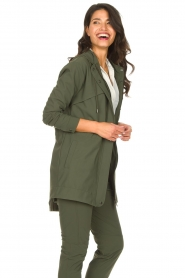 D-ETOILES CASIOPE |  Travelwear parka Avocat | green  | Picture 6
