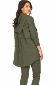 D-ETOILES CASIOPE |  Travelwear parka Avocat | green  | Picture 7