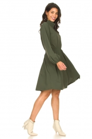 D-ETOILES CASIOPE |  Travelwear dress Alenya | green  | Picture 3