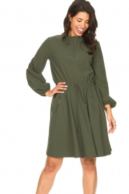 D-ETOILES CASIOPE |  Travelwear dress Alenya | green  | Picture 4