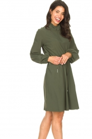D-ETOILES CASIOPE |  Travelwear dress Alenya | green  | Picture 6