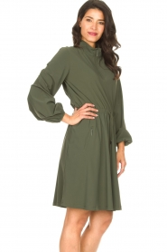 D-ETOILES CASIOPE |  Travelwear dress Alenya | green  | Picture 7