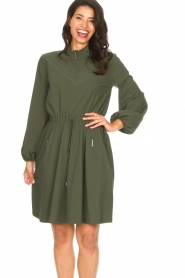 D-ETOILES CASIOPE |  Travelwear dress Alenya | green  | Picture 5