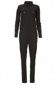 D-ETOILES CASIOPE | Travelwear jumpsuit Astro | zwart   | Afbeelding 1