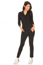 D-ETOILES CASIOPE | Travelwear jumpsuit Astro | zwart   | Afbeelding 2