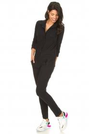 D-ETOILES CASIOPE    Travelwear jumpsuit Astro   black    Picture 4
