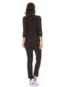 D-ETOILES CASIOPE | Travelwear jumpsuit Astro | zwart   | Afbeelding 7