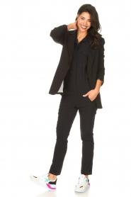D-ETOILES CASIOPE | Travelwear jumpsuit Astro | zwart   | Afbeelding 3