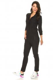 D-ETOILES CASIOPE | Travelwear jumpsuit Astro | zwart   | Afbeelding 5