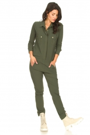 D-ETOILES CASIOPE |  Travelwear jumpsuit Astro | green  | Picture 6