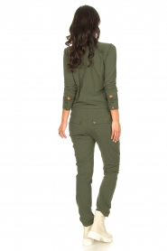 D-ETOILES CASIOPE |  Travelwear jumpsuit Astro | green  | Picture 8