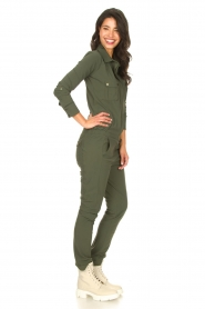 D-ETOILES CASIOPE |  Travelwear jumpsuit Astro | green  | Picture 7
