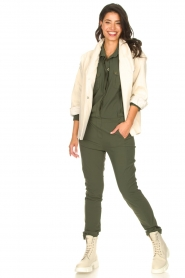 D-ETOILES CASIOPE |  Travelwear jumpsuit Astro | green  | Picture 3