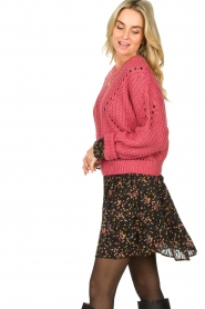 Fracomina |  Knitted sweater Levy | pink  | Picture 4