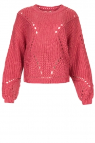 Fracomina |  Knitted sweater Levy | pink  | Picture 1
