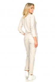 D-ETOILES CASIOPE |  Travelwear jumpsuit Astro | cement  | Picture 7