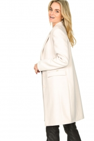 Fracomina |  Classic coat Aimee | natural  | Picture 5