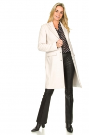 Fracomina |  Classic coat Aimee | natural  | Picture 3