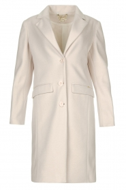 Fracomina |  Classic coat Aimee | natural  | Picture 1