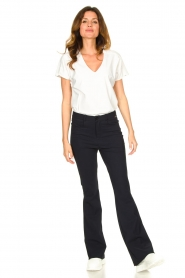 D-ETOILES CASIOPE |  Bootcut travelwear pants Vibrant | blue  | Picture 3