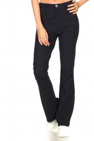D-ETOILES CASIOPE |  Bootcut travelwear pants Vibrant | blue  | Picture 4