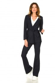 D-ETOILES CASIOPE |  Bootcut travelwear pants Vibrant | blue  | Picture 2