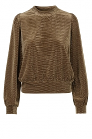 Second Female | Sweater with lurex Nancy | brown  | Picture 1