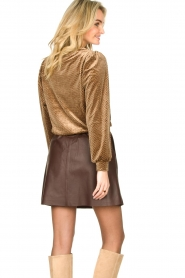 Second Female | Sweater with lurex Nancy | brown  | Picture 7