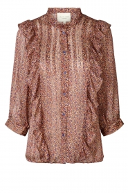 Lolly's Laundry |  Ruffle blouse Hanni | pink  | Picture 1