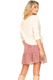 Lolly's Laundry |  Print skirt Alexa | pink  | Picture 6