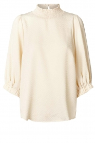 Lolly's Laundry |  Top with balloon sleeves Bobby | natural  | Picture 1