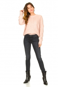 Les Favorites |  Knitted sweater Babs | pink  | Picture 3