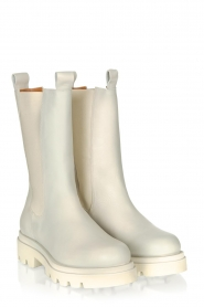 Toral |  Leather boots Kiki | beige  | Picture 3