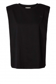 Lolly's Laundry |  Basic T-shirt Alex | black  | Picture 1