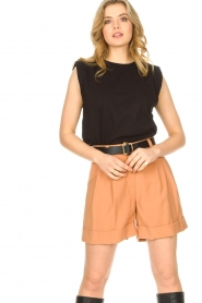 Lolly's Laundry |  Basic T-shirt Alex | black  | Picture 5