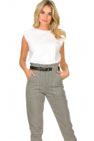 Lolly's Laundry |  Basic T-shirt Alex | white  | Picture 5