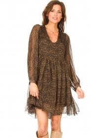 Freebird    Dress with print Ezra   black    Picture 4