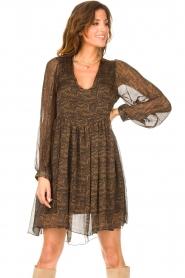 Freebird    Dress with print Ezra   black    Picture 5