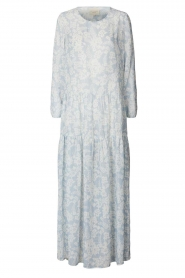 Lolly's Laundry |  Floral maxi dress Burton | blue  | Picture 1