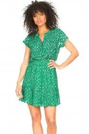 Lolly's Laundry | Top met lurex Heather | groen   | Afbeelding 4