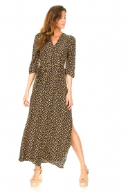 Freebird    Maxi dress with print Esmee   black    Picture 3