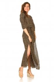Freebird    Maxi dress with print Esmee   black    Picture 4