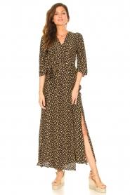 Freebird    Maxi dress with print Esmee   black    Picture 2