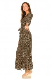 Freebird    Maxi dress with print Esmee   black    Picture 5