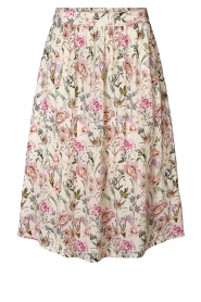 Lolly's Laundry |  Floral midi skirt Ella | natural  | Picture 1