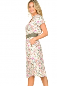 Lolly's Laundry |  Floral midi skirt Ella | natural  | Picture 5
