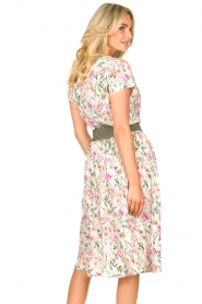 Lolly's Laundry |  Floral midi skirt Ella | natural  | Picture 6