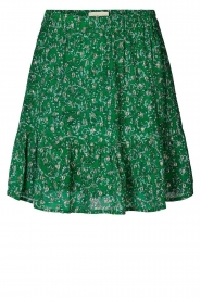 Lolly's Laundry |  Skirt with lurex Alexa | green  | Picture 1
