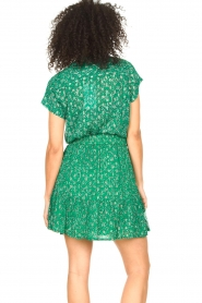 Lolly's Laundry |  Skirt with lurex Alexa | green  | Picture 7